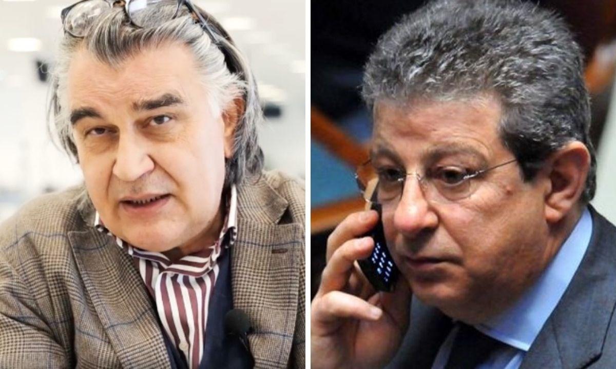 Da sinistra Salvatore Staiano e Giancarlo Pittelli