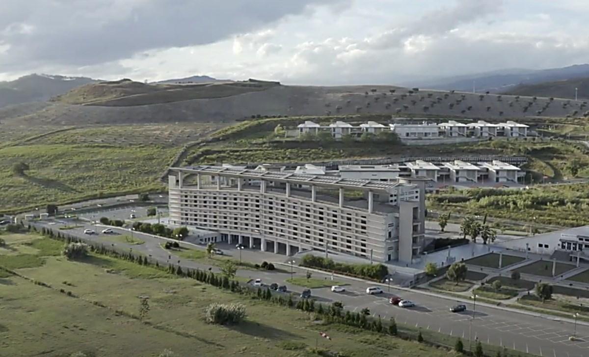L'Università di Catanzaro, foto dal sito dell'Ateneo