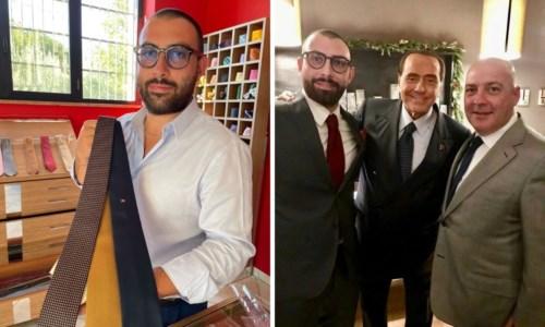 """Made in CalabriaLe """"Sette pieghe"""" di Damiano Presta: storia di una cravatta calabrese che affascinò anche Berlusconi"""