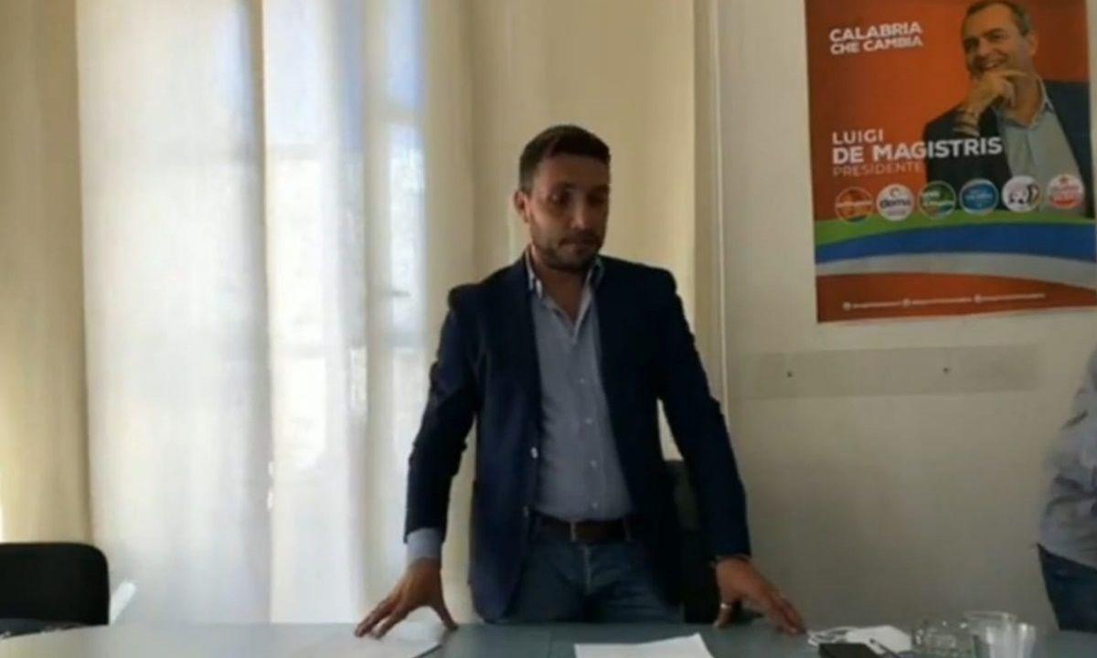 Il referente di DeMa Mezzogiorno Michele Conia