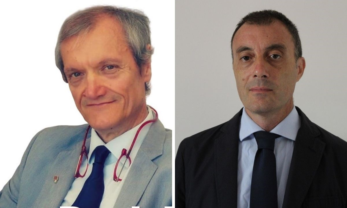 I candidati a sindaco di Falerna: a destra Daniele Menniti, a sinistra Francesco Stella