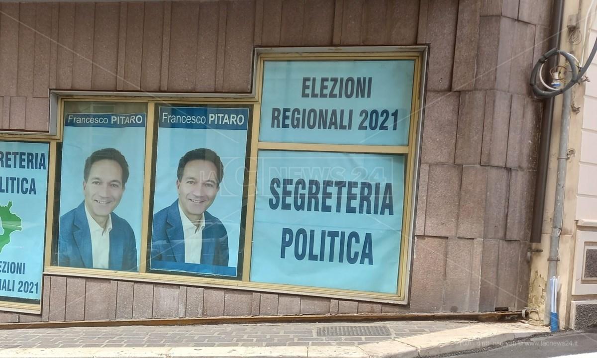 La sede della segreteria politica di Francesco Pitaro