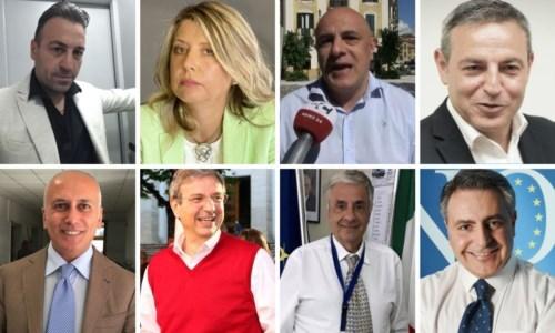 Gli otto candidati alle comunali di Cosenza