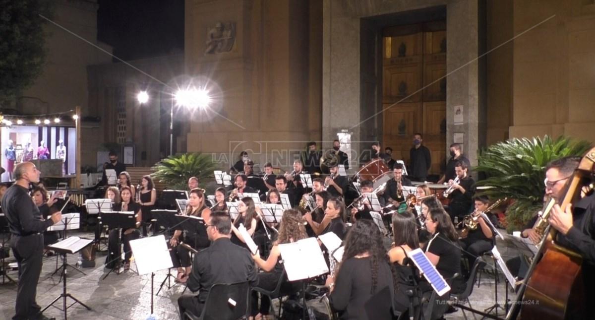 Concerto orchestra Fiati Delianuova per Luigi De Sena a Reggio Calabria