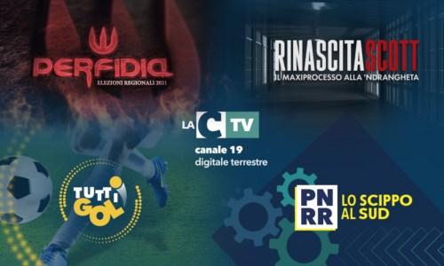 Autunno 2021Politica, sport, inchieste: le novità della nuova stagione televisiva di LaC Tv con il Sud protagonista