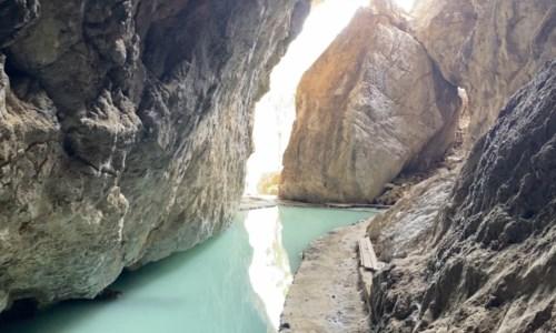 La roccia interna (Grotte delle Ninfe)
