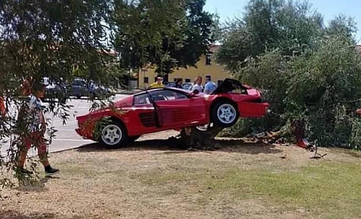 la foto dell'incidente su ansa