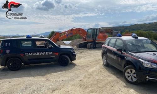 Furto di materiale inerte dal fiume Crati, due arresti a Bisignano