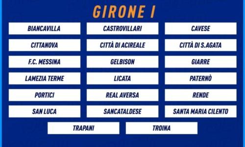 Calcio calabriaSerie D, ecco la composizione del girone I: cinque le calabresi ai nastri di partenza