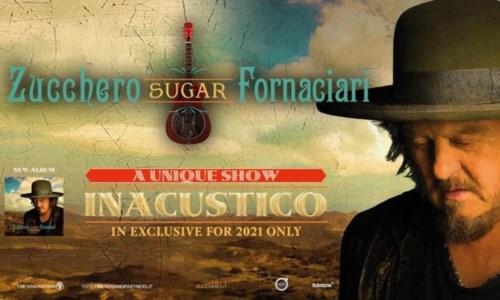 """Eventi in CalabriaRoccella Summer Festival, il concerto di Zucchero """"Inacustico"""" il 22 settembre"""