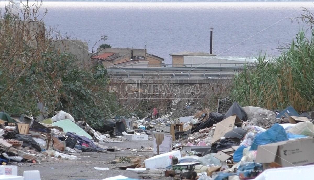 Degrado nel quartiere di San Gregorio, Reggio Calabria