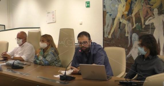 La conferenza nella sala Antonio Acri del Consiglio Regionale della Calabria a Reggio