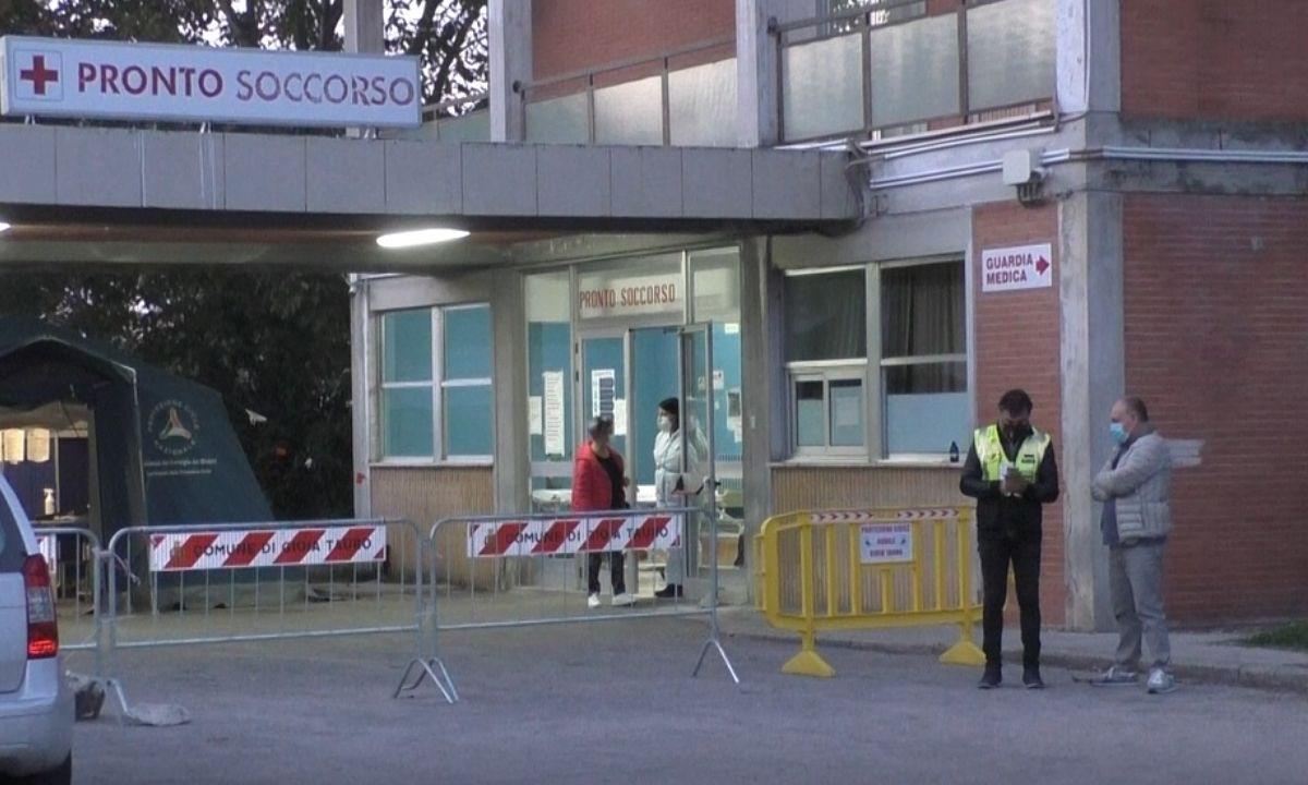Il pronto soccorso dell'ospedale di Gioia Tauro