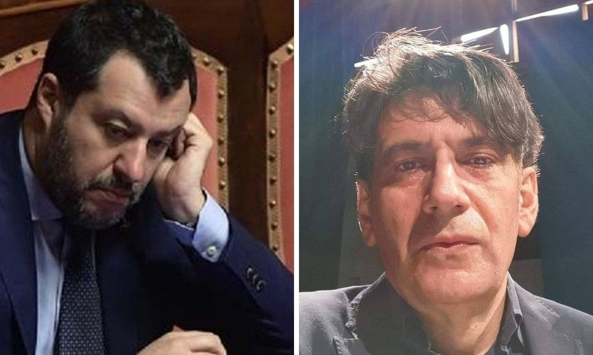 Matteo Salvini e Carlo Tansi