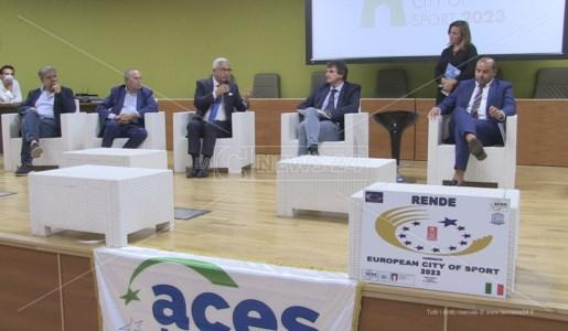 La conferenza di presentazione della candidatura di Rende a Città Europea dello Sport 2023