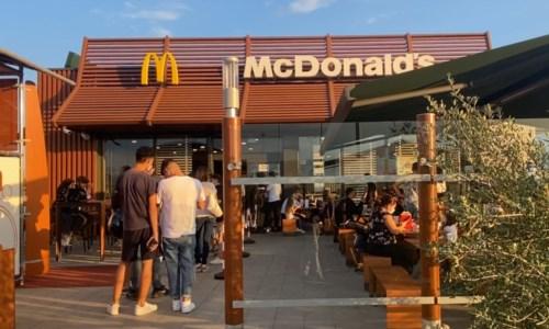 Il Mcdonald's di Corigliano Rossano