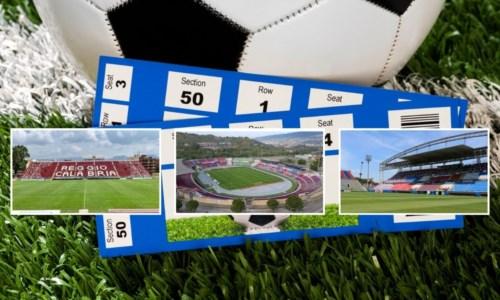 Calcio Serie BQuanto costa andare allo stadio in Calabria: ecco il confronto tra Crotone, Cosenza e Reggina