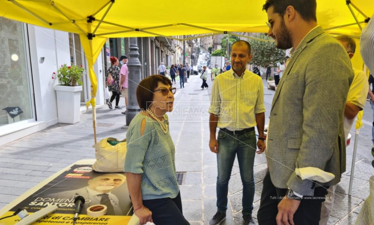 Amalia Bruni a Vibo con Riccardo Tucci