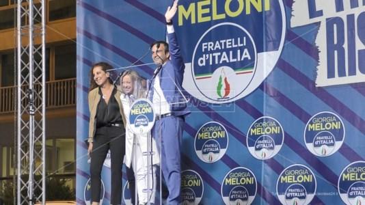 Regionali 2021Elezioni Calabria, Meloni a Catanzaro gela Spirlì: «Vicepresidenza si decide dopo il voto»