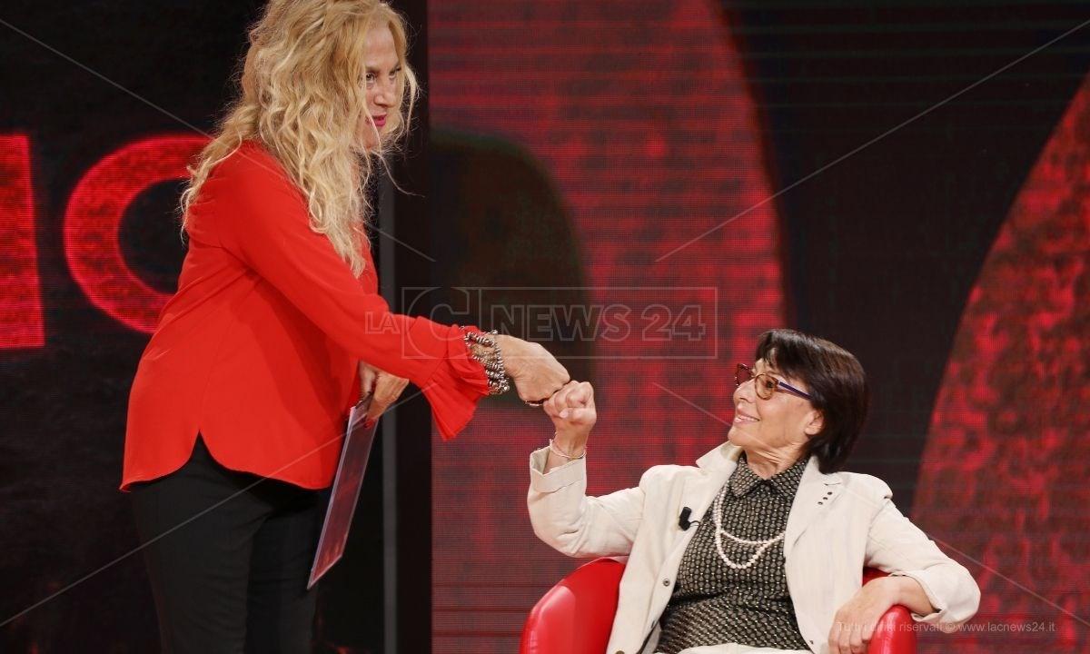 Antonella Grippo e Amalia Bruni nel corso dell'ultima puntata di Perfidia