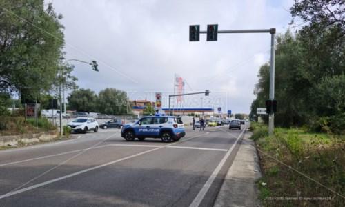 L'impattoIncidente stradale sulla statale 18 a Vibo Valentia: due i feriti