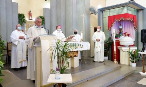 L'annuncio nella chiesa parrocchiale di Torre Melissa