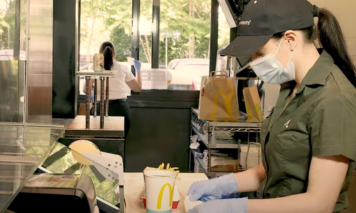 Immagine dal sito McDonald's