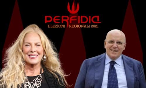 Antonella Grippo e Mario Oliverio