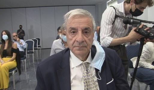 Il candidato sindaco di Cosenza Franco Pichierri
