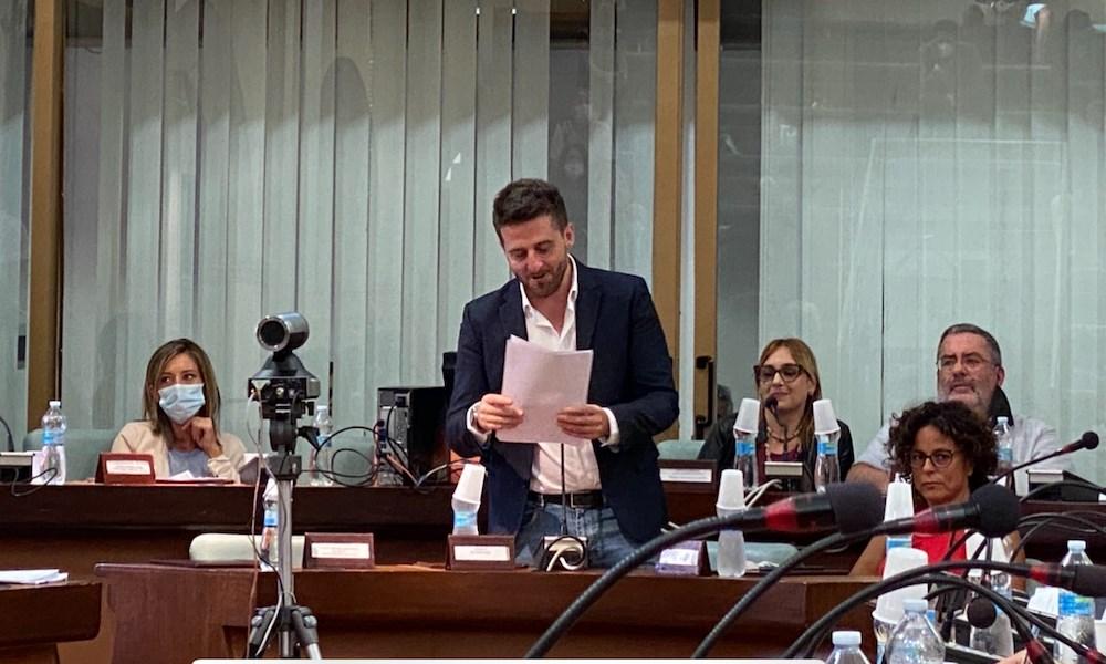 Il sindaco Stasi in Consiglio