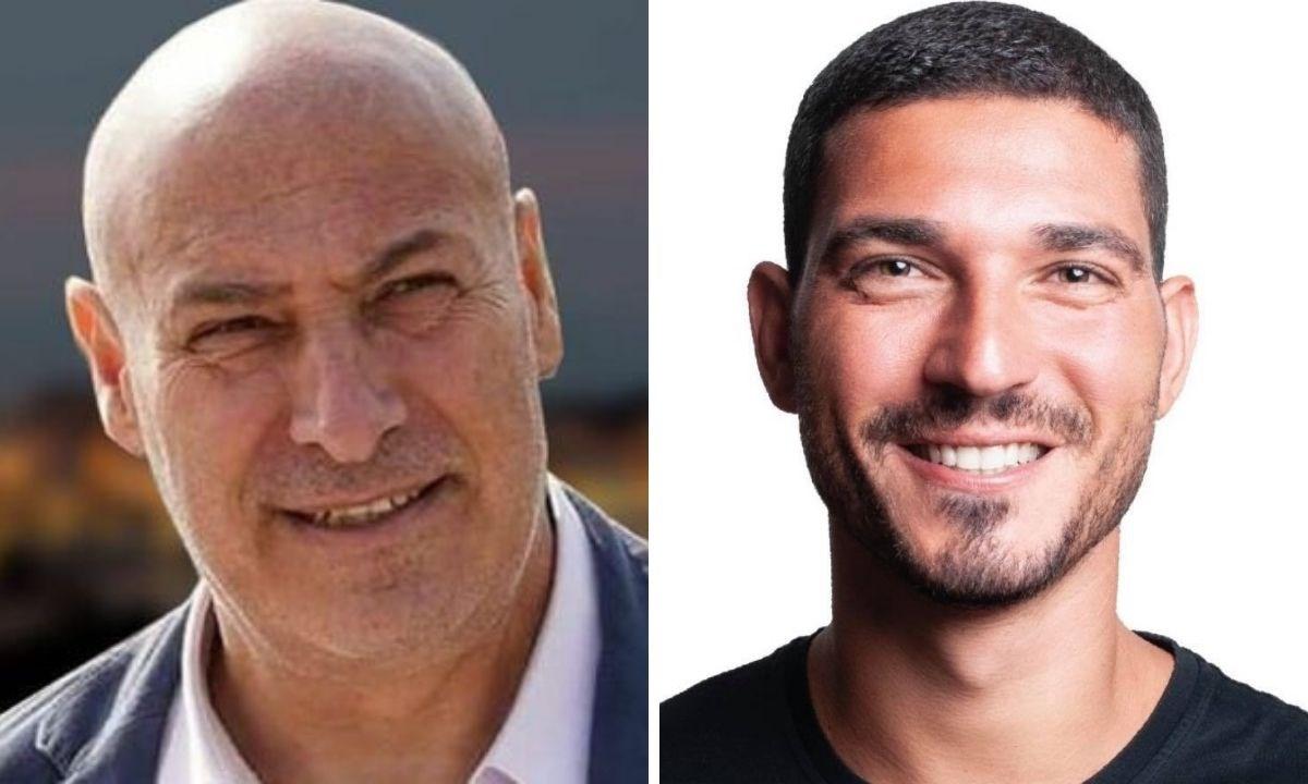 A sinistra il sindaco Vincenzo Voce, a destra il consigliere comunale Andrea Devona