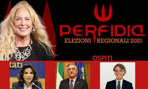 """Regionali 2021Perfidia a """"Bande larghe"""": Falcone, Aieta e Molinaro sotto la lente di Antonella Grippo - VIDEO"""