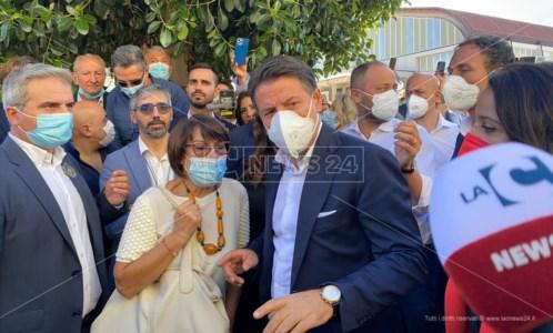 Elezioni CalabriaConte a Corigliano Rossano: «Non permetteremo più che alla Calabria sia sottratto un solo euro»