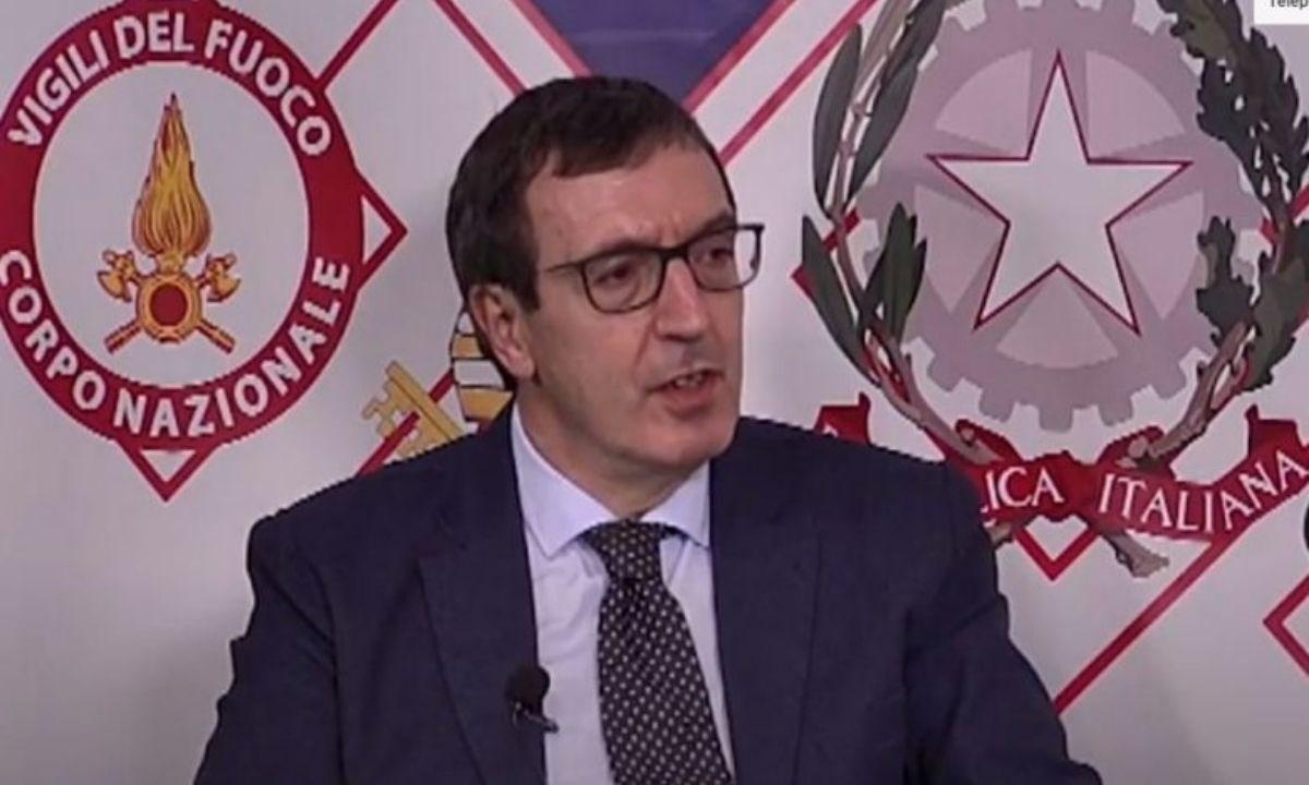 Il procuratore D'Alessio