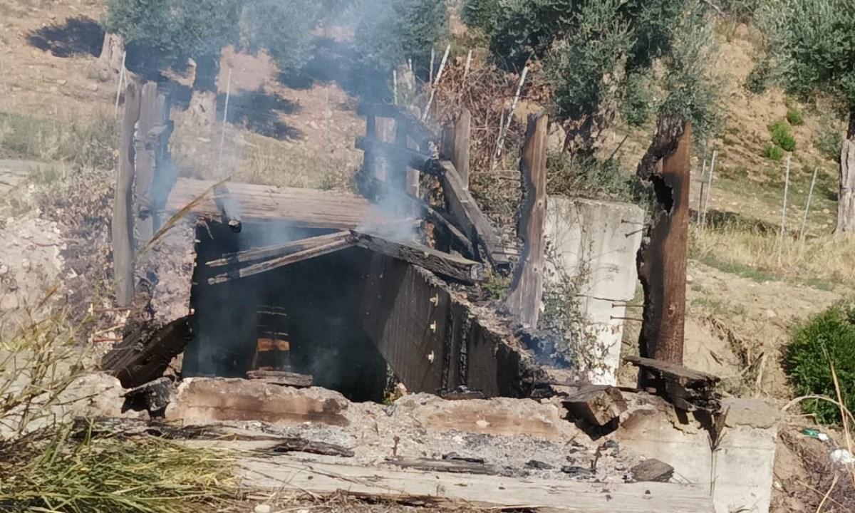 I danni provocati dall'incendio