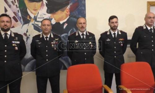 La cerimoniaCrotone, quattro nuovi ufficiali al Comando provinciale dei carabinieri