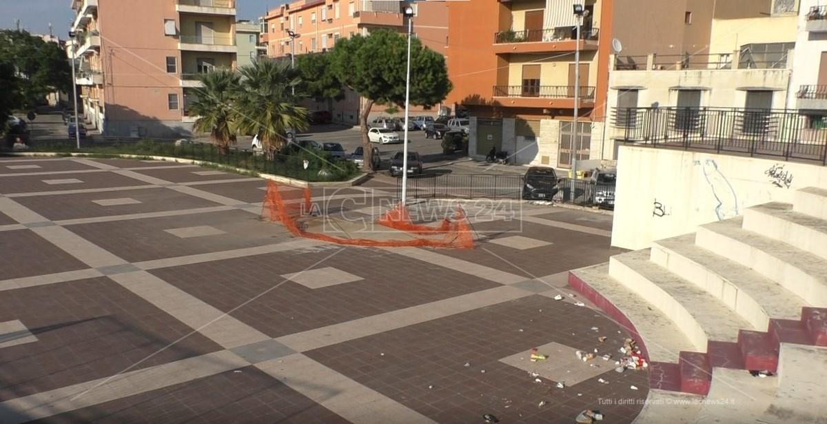 Piazza Leopoldo Trieste Reggio Calabria