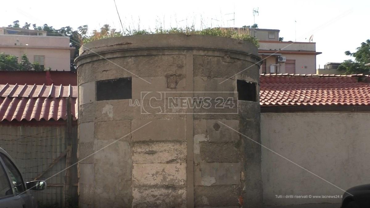 Antichi bagni pubblici rione Ferrovieri Reggio Calabria