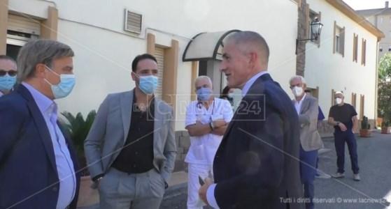 Centro d'eccellenzaIl sottosegretario Andrea Costa visita il centro clinico San Vitaliano di Catanzaro