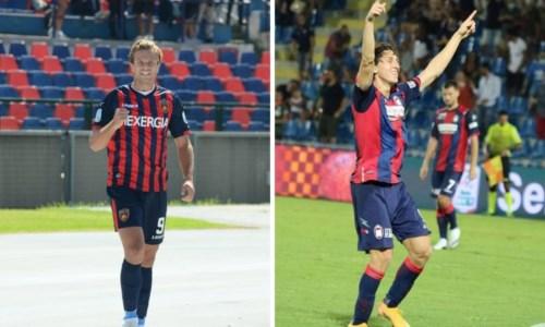 A sinistra Gabriele Gori, a destra Samuele Mulattieri