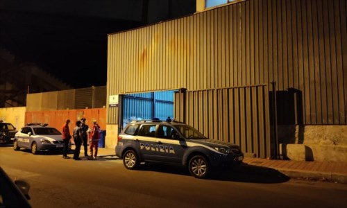 Una delle strutture dove sono stati trasferiti i migranti