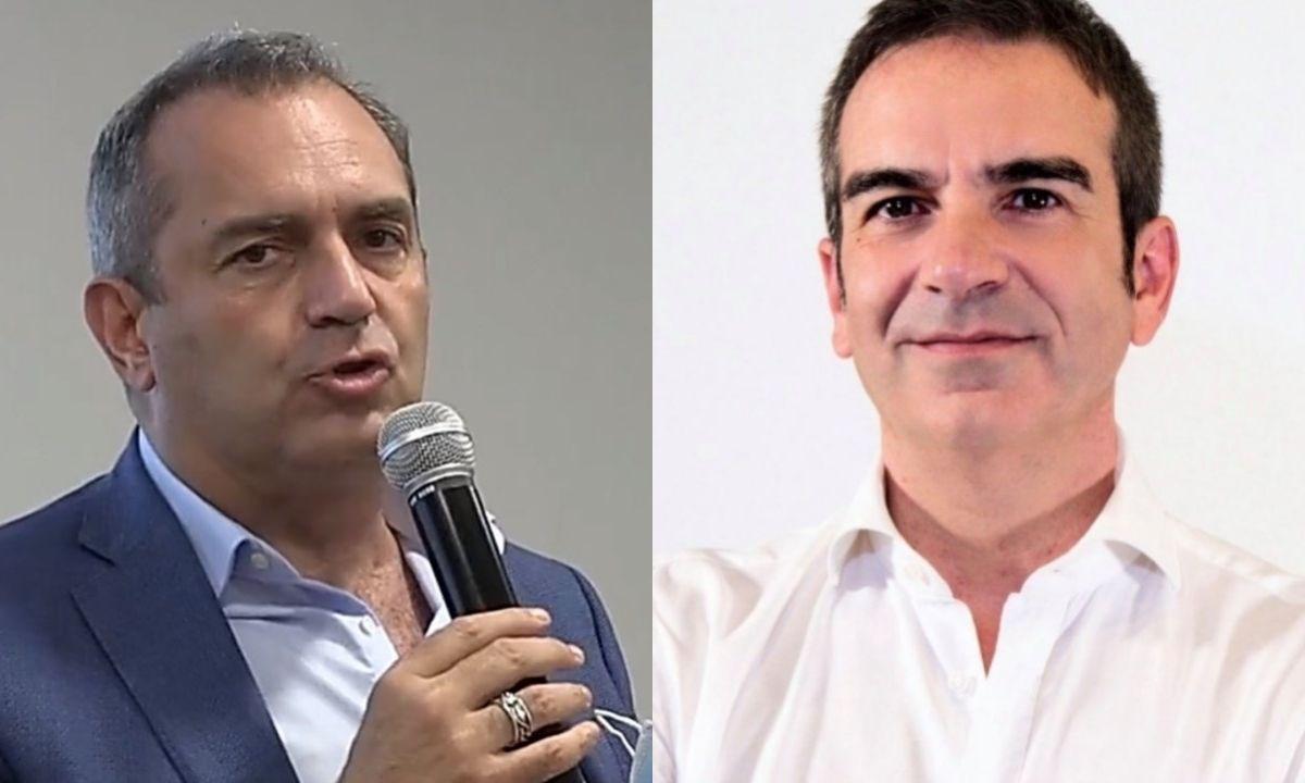 Luigi de Magistris e Roberto Occhiuto