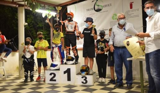 Il trionfoA dieci anni il catanzarese Salvatore Giglio vince il campionato interregionale di karting