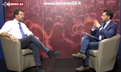 Regionali 2021Salvini scommette sulla Calabria per puntellare la leadership nella Lega: l'intervista esclusiva a LaC