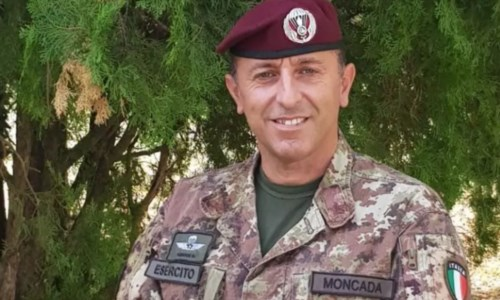 Il colonnello Massimo Moncada