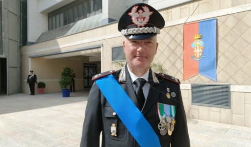 Il comandante regionale carabinieri, Pietro Salsano
