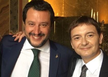 Matteo Salvini e Luca Morisi
