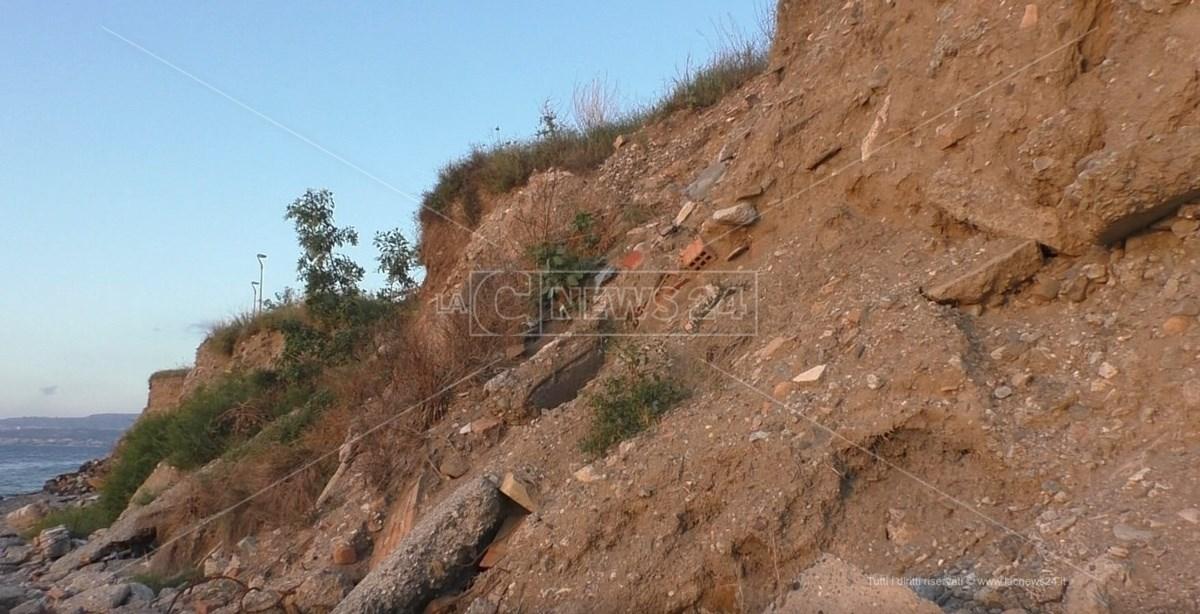 Parco Lineare Sud retro collinetta Reggio Calabria