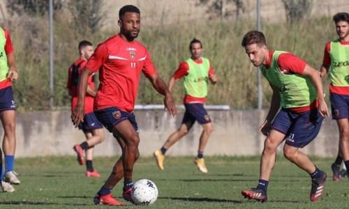 Anderson e Palmiero (foto da Facebook Cosenza)