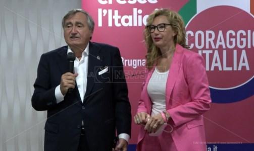 Verso il votoRegionali, Coraggio Italia: «La Calabria è trainante per tutto il Paese»